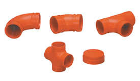 Standard Grooved Fittings Styles 105, 106, 107, 135 & 155