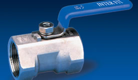 1 PC Ball Valve - Screwed Ends Reduced Bore - Style 01