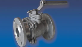 2 PC Ball Valve - Flanged Ends Full Core - Style 20